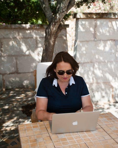 Dr. Petra Bock auf Mallorca